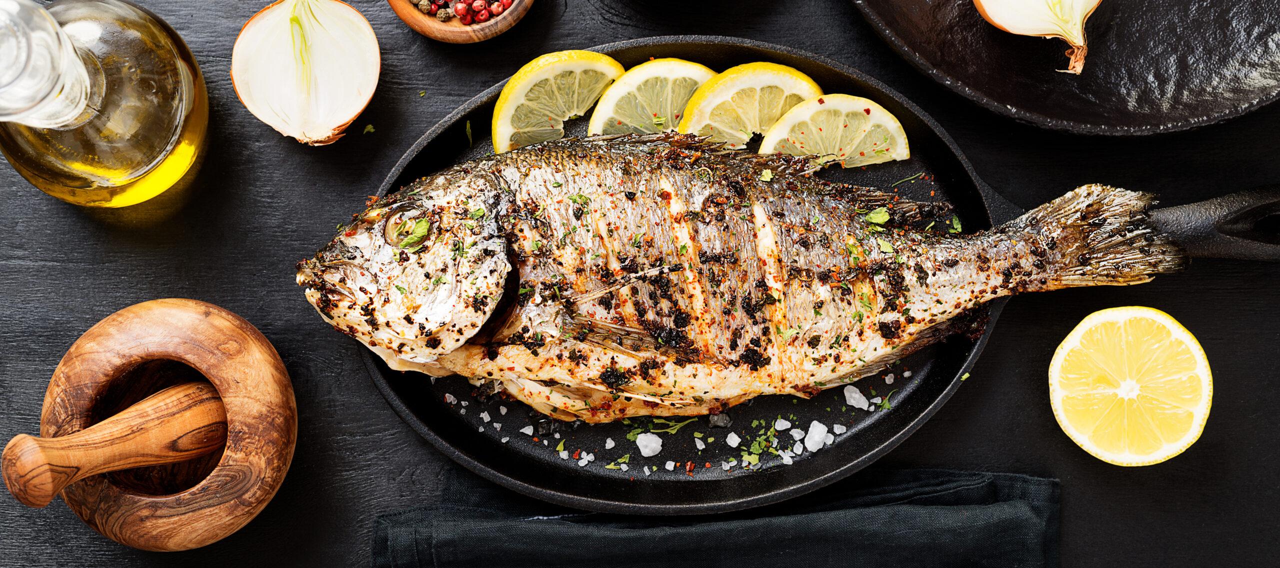 Fisch Grill Karfreitag Am Kamin
