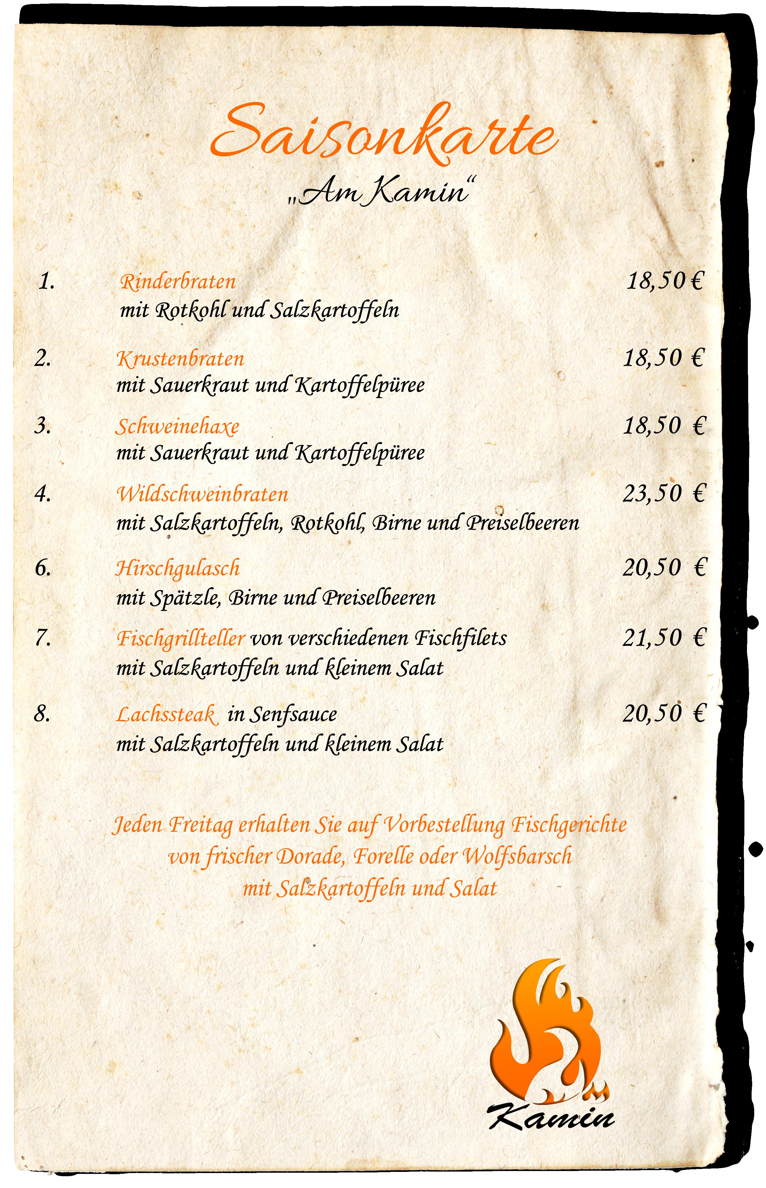 Pfifferlinge Am Kamin Restaurant Monheim